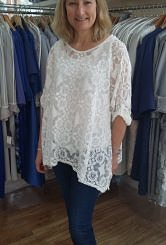 White Lace top#3