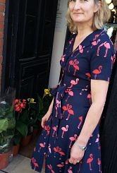 Flamingo dress #151
