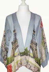 100 stars kimono/eiffel tower