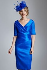 Ispirato colbolt blue dress #8081