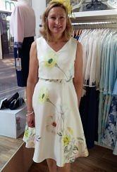 Aline Floral dress #156