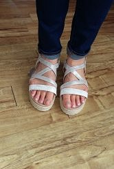 Strappy sandal#27