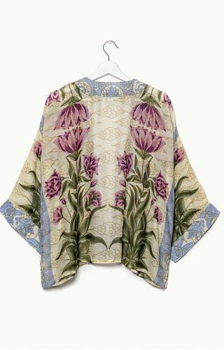 100 stars kimono/botonical print