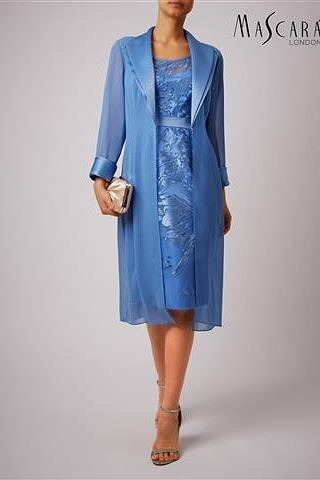 Dress and Chiffon coat #2022