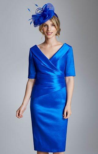 Ispirato colbolt blue dress #8081